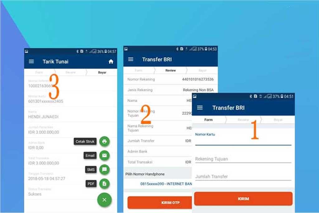 Cara Transfer Sesama Bri Di Aplikasi Brilink Mobile