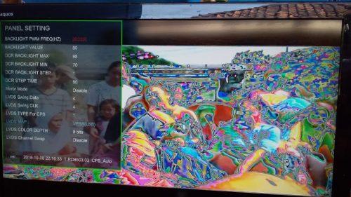 Tampilan layar saat pertama dinyalakan