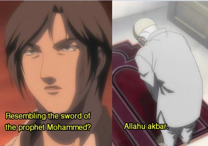 Anime dengan Adegan Islami