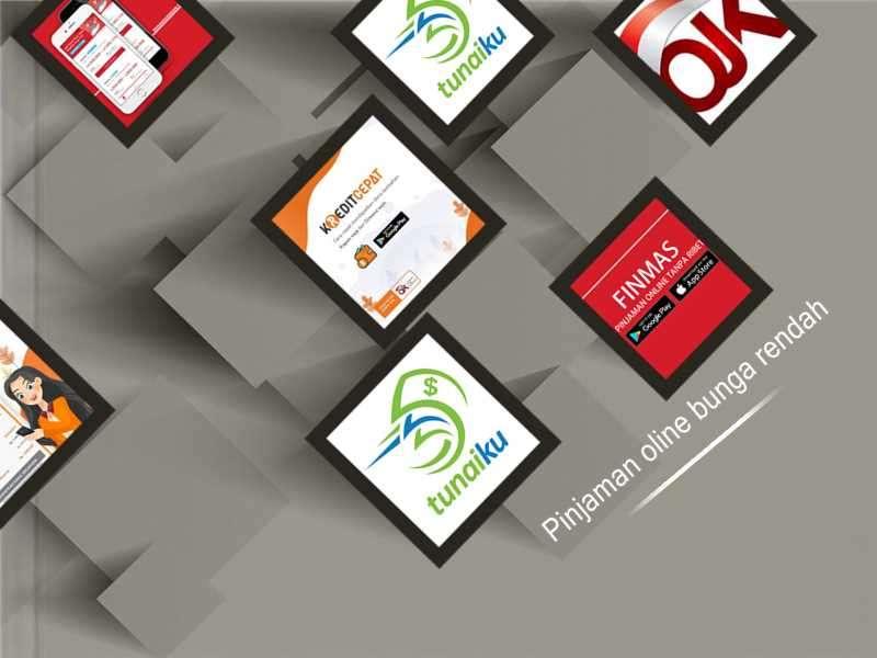 Aplikasi Pinjaman Online Bunga Rendah Terdaftar OJK