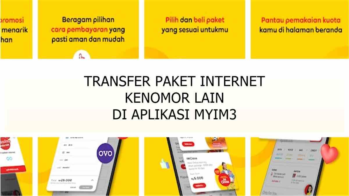 Cara Transfer Pulsa Kuota Paket Internet Sesama Indosat