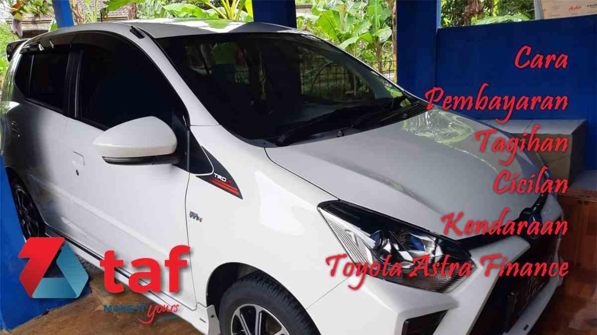 Kredit Toyota Agya di Toyota Astra Finance.