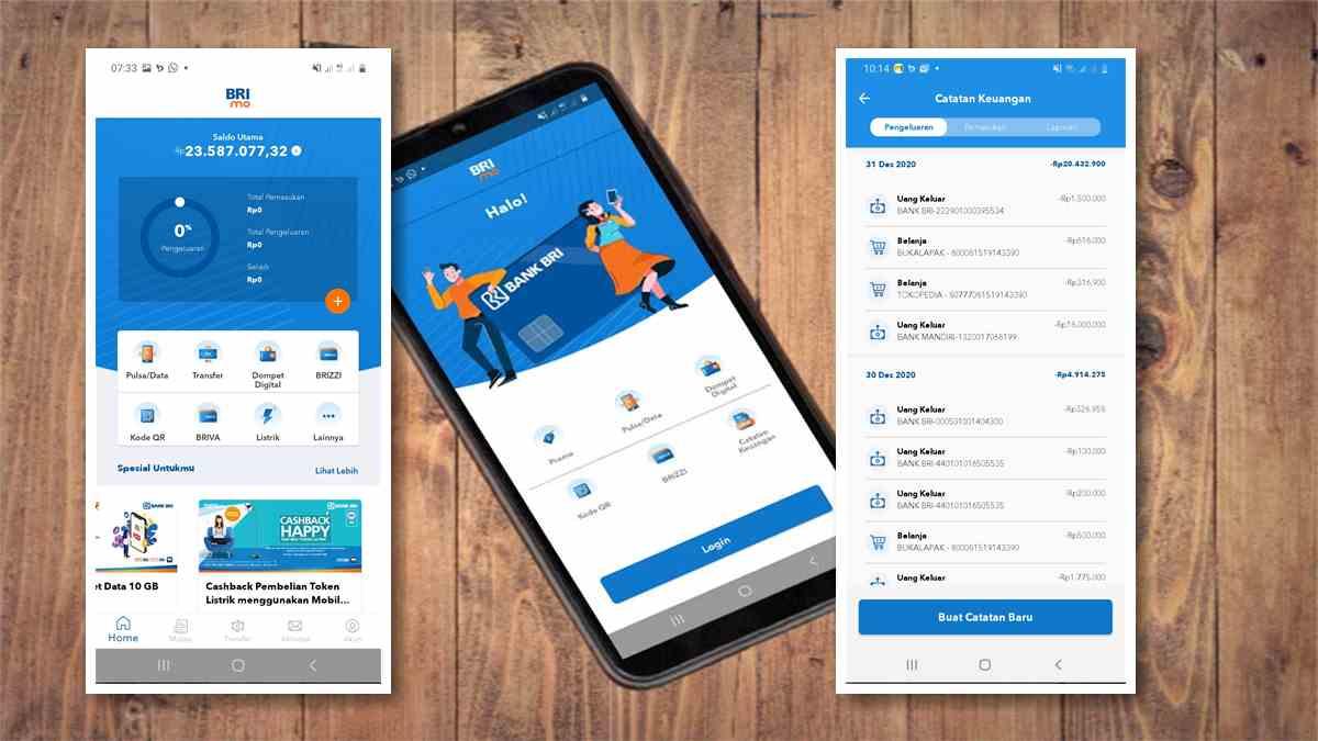 aplikasi brimo bri mobile banking versi 2.0.1 beta terbaru