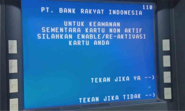 Buka Blokir Kartu ATM