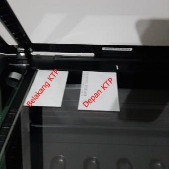 cara fotocopy ktp dua sisi